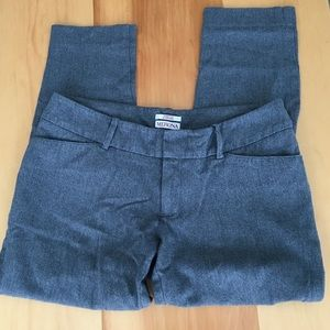 Women's grey stretchy slacks